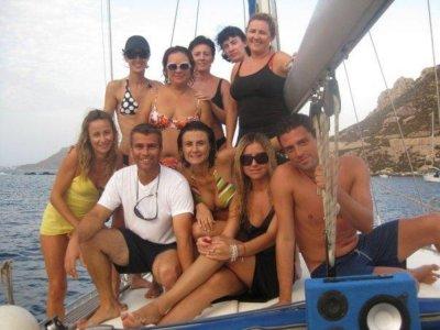 乘坐cabo de gata在帆船上游览7天