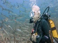 技术潜水课程跳水在马略卡岛潜水卡布雷拉