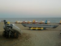 Inflatables in the beach