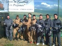 Foto de grupo de paintball