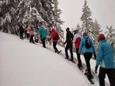 Luna Llena Aventura Raquetas de Nieve