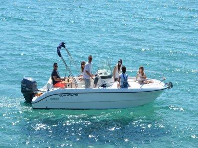 Noleggio barche esclusivo, 4 ore, Costa Blanca
