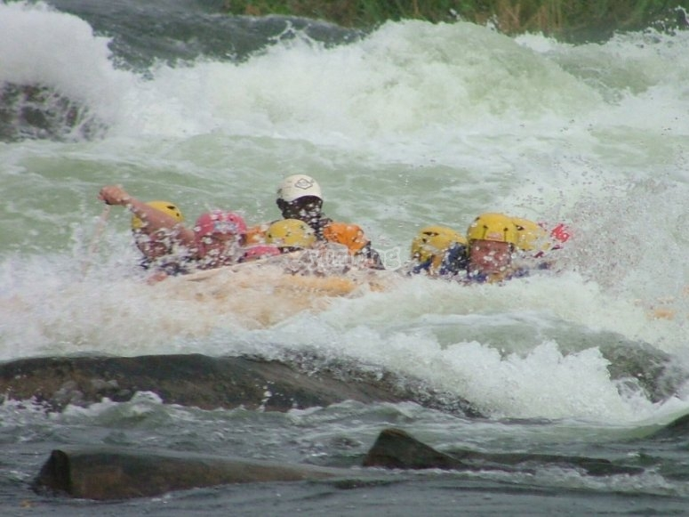 Rafting raft
