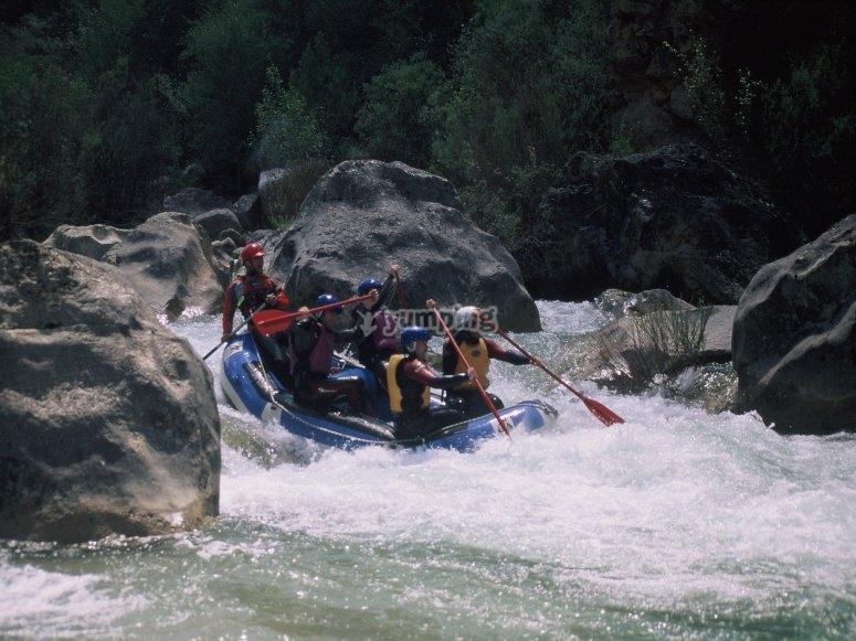 Rafting in Alto Tajo