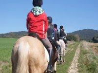 Paseos a caballo y aprendizaje
