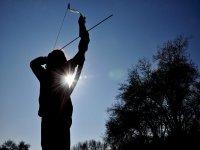Archery initation class, El Escorial