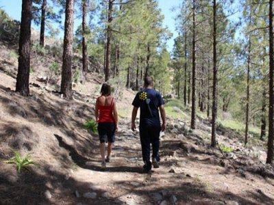 Senderismo por Monumento Natural del Roque Nublo