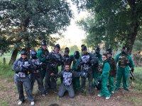 El batallón de paintball