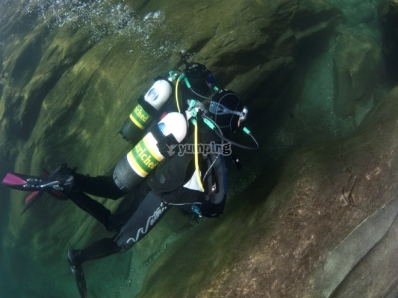 Inmersion con aire nitrox