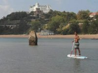 Touring Santander Bay in SUP