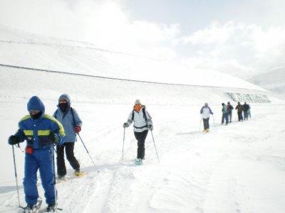 Fuentes de Invierno Raquetas de Nieve