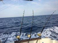 Pesca desde barco en Mallorca