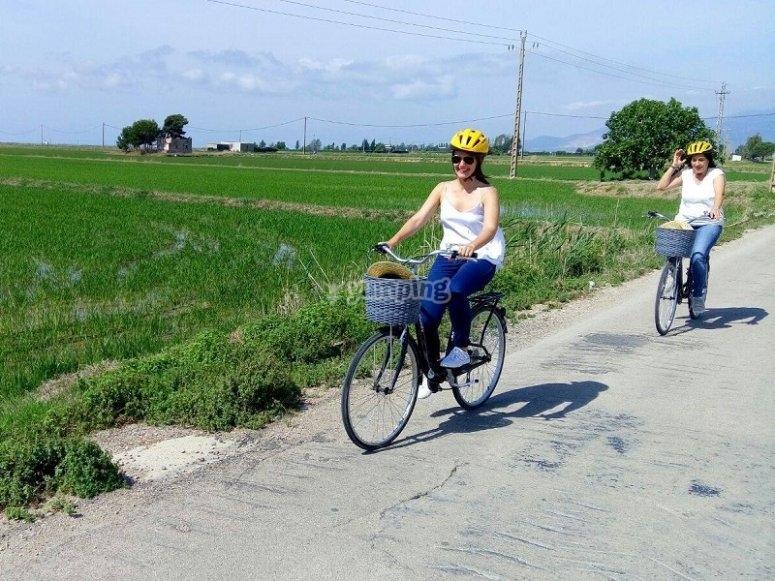 Excursion en bicicleta en Tarragona