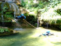 Canyoning Climbout