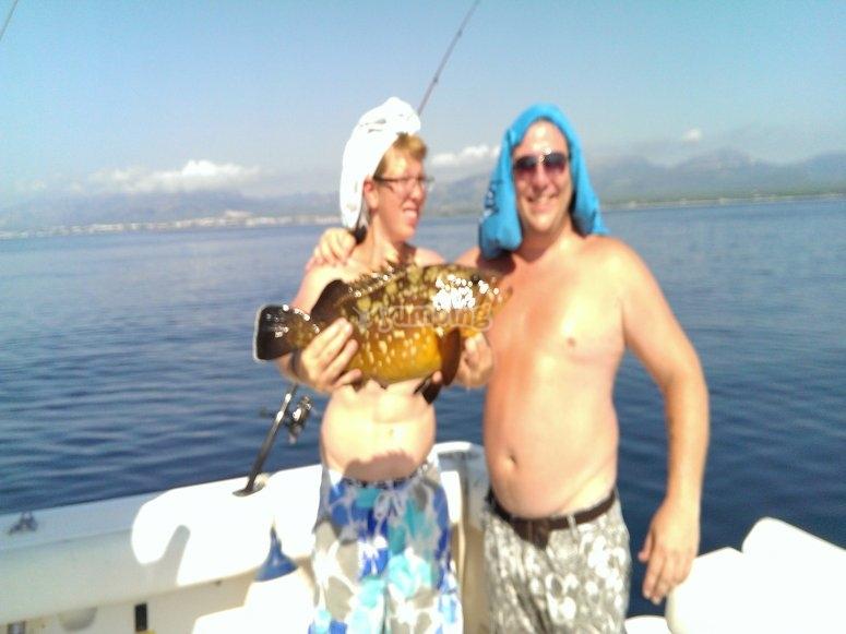 Pesca en Cambrils