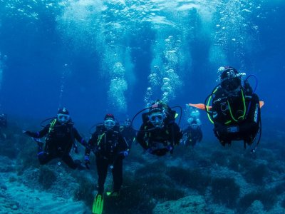 Open water diving course in Roquetas de Mar
