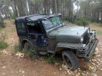 Abandoned combat vehicle