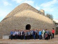 Foto de grupo en La Mancha