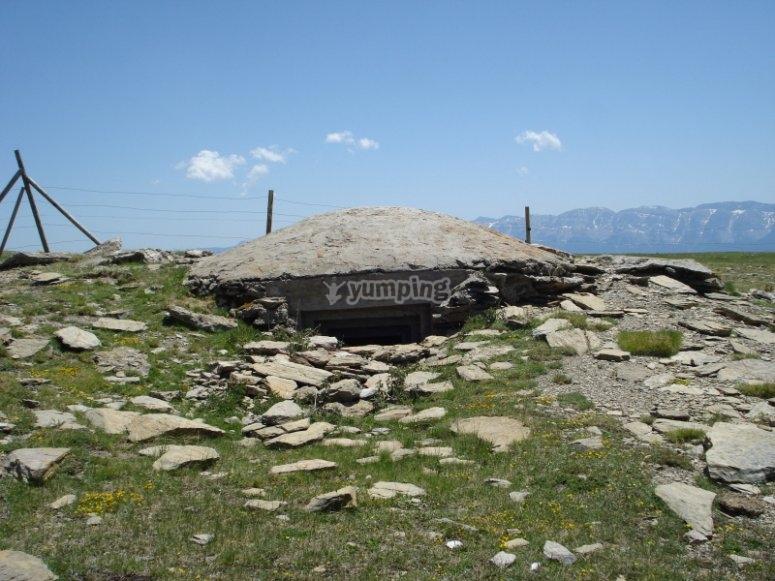 Bunker en los Pirineos