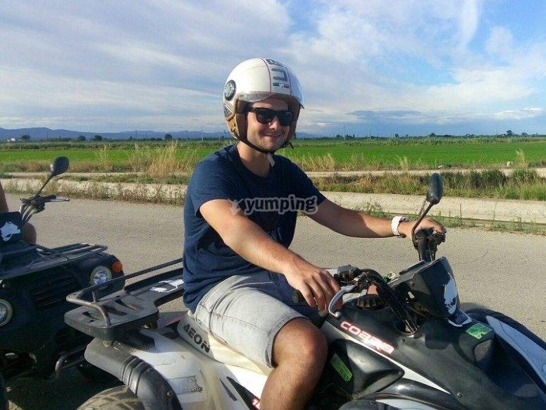 Pilotar un quad en Tarragona