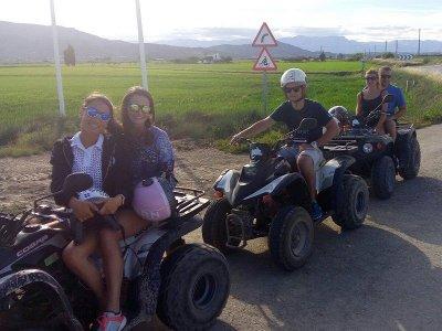 Ruta en quad y ruta en kayak en Delta del Ebro