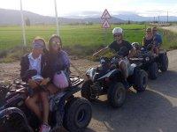 Grupo de quads en Tarragona