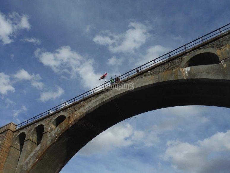 Puenting en Teruel