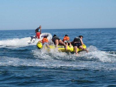 Ciambelle in barca a Playa Islantilla Huelva 15 minuti