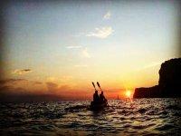 Paseo en kayak por la Costa Dorada