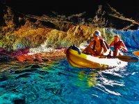 Kayak en las calas de Tarragona