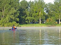 1h canoe rental at the reservoir of San Juan