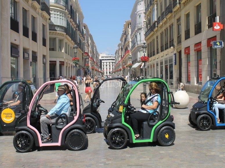 Coche eléctrico en Málaga