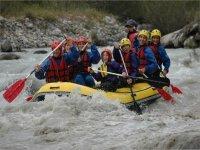 Los descensos mas emocionantes de rafting