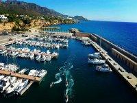 Palcoscenico El Port de Calafat per gli sport acquatici