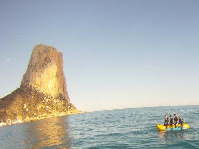 Sessione di banana boat a Calpe, 20 minuti