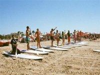 Curso avanzado de paddle surf en Islantilla 5 días