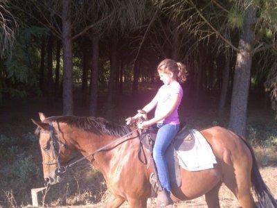 Ruta a caballo Ermita-Cazalla, 2 horas 15