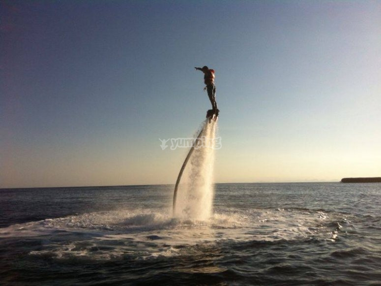 Flyboard in menorca