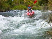 Kayak en el Rio Cabriel