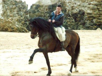 Lezione di equitazione privata a Mazagón, 1 ora