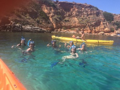 Coasteering, Kayak and Snorkel, Illetas, 3-4 hours
