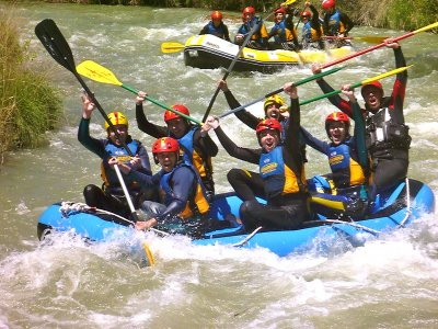 Aiguaroca Rafting