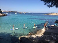 2h Stand up paddle surfing in Majorca