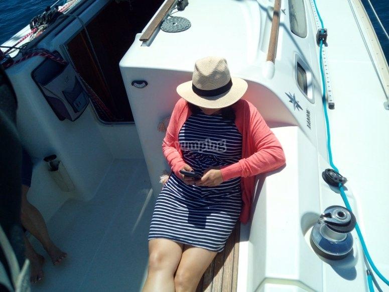 Alquiler velero en Almería