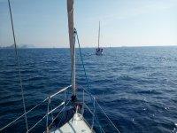 Alquiler velero en Costa Garrucha