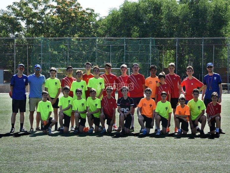 Grupo de fútbol para mayores