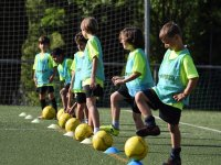 Clases de fútbol grupo intermedio