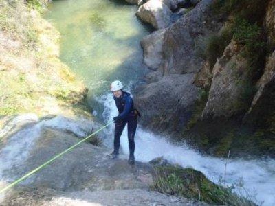 Initiation canyon+ferrata package in Berga