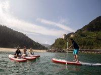Paddle surf en Ondarroa