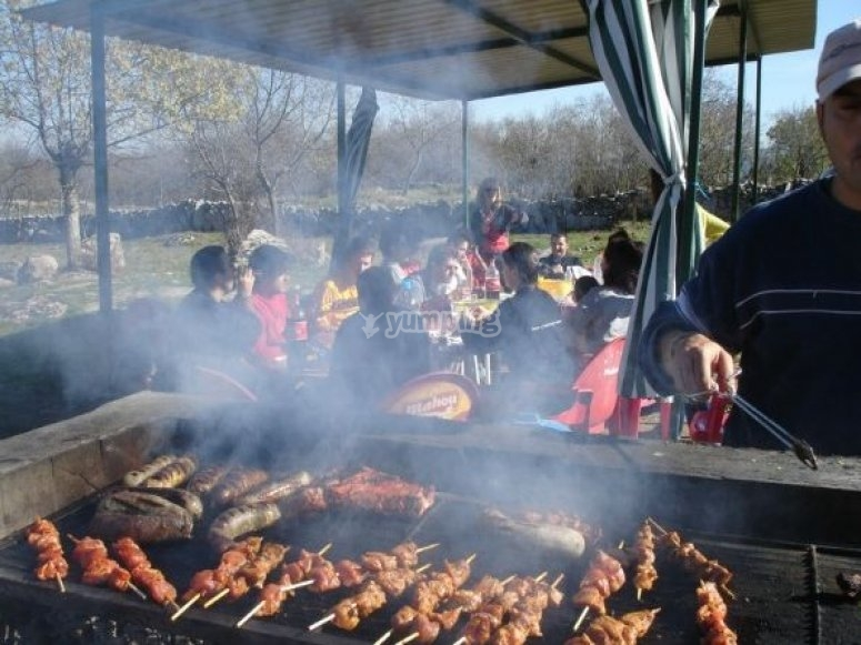 barbecue paintball